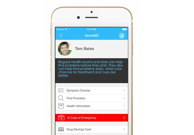 Genie MD, Apps and Websites to Control Blood Pressure