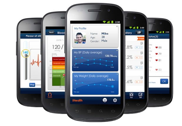 iHealth MyVitals, Apps and Websites to Control Blood Pressure