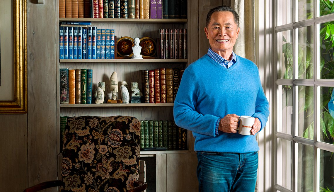 George Takei, actor, portrait, What I Know Now