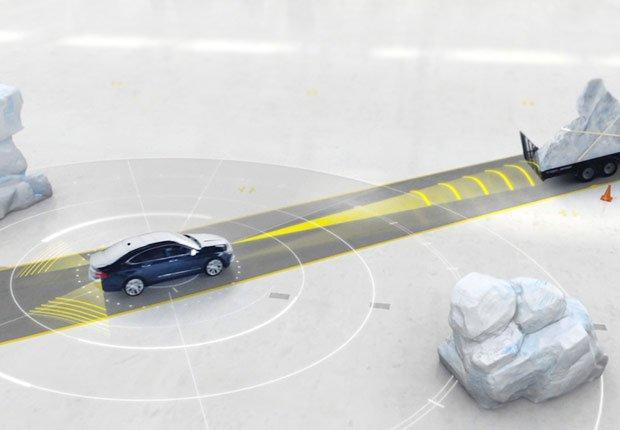 Última tecnología para automóviles: Control de crucero adaptable - Chevrolet Impala 2014