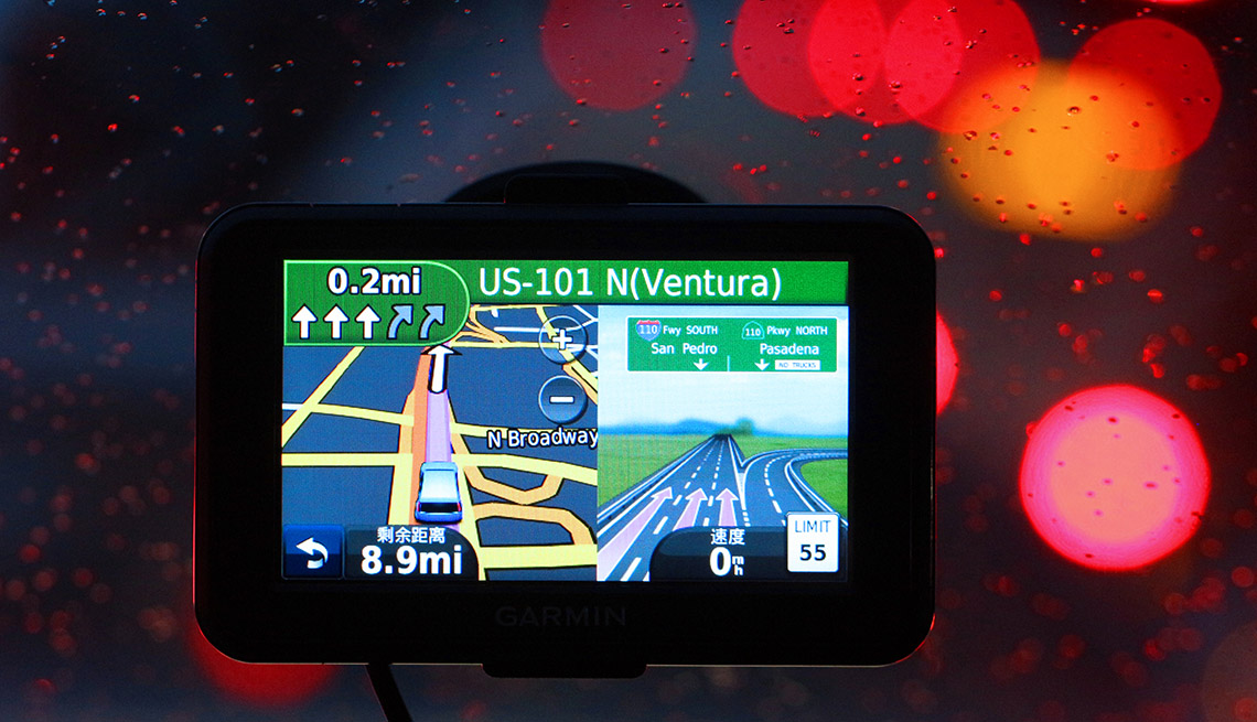 GPS Sits On The Car Windshield, AARP Home And Family, Personal Technology, 13 Items That Have Been Replaced By The Smartphone