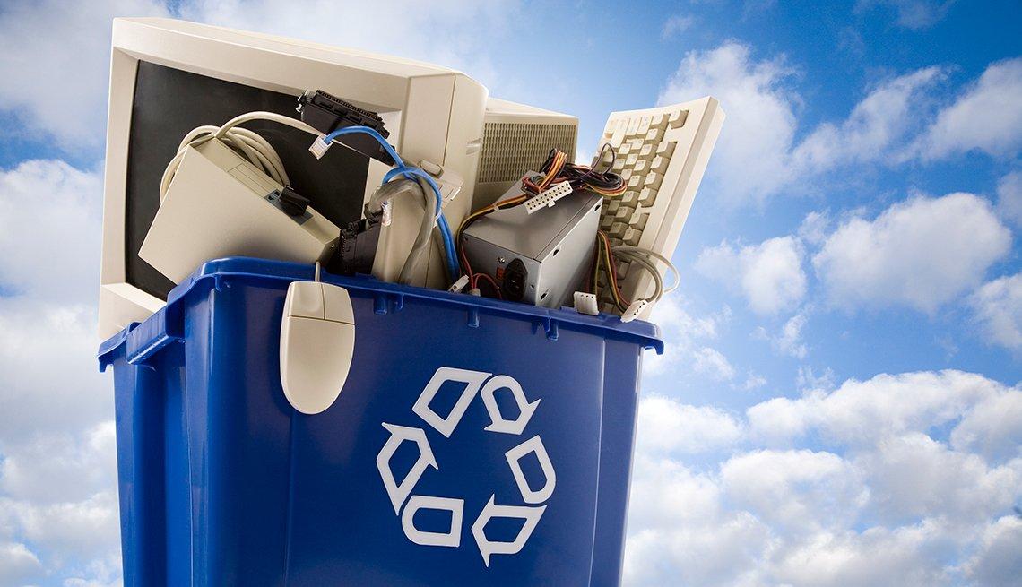 Cómo tener una experiencia tecnológica más 'verde',Recycle Electronics
