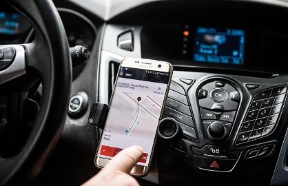 Conductor para servicios de auto compartido