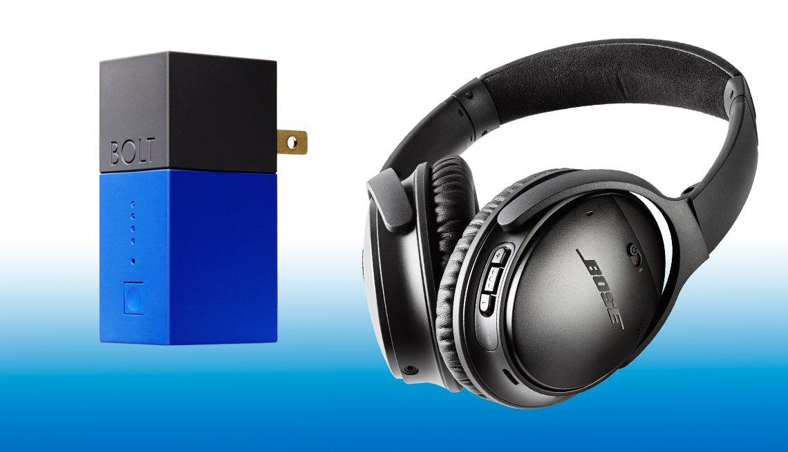 Tech Guide 2017 - Flux mob Bolt &  Bose QuietComfort 35 headphones
