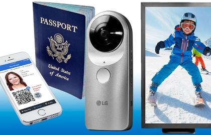 Objetos tecnológicos para el año nuevo