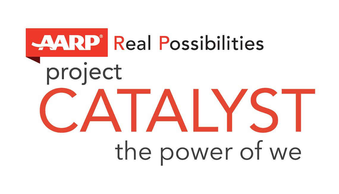 Innovation@50+, Project Catalyst Logo, AARP