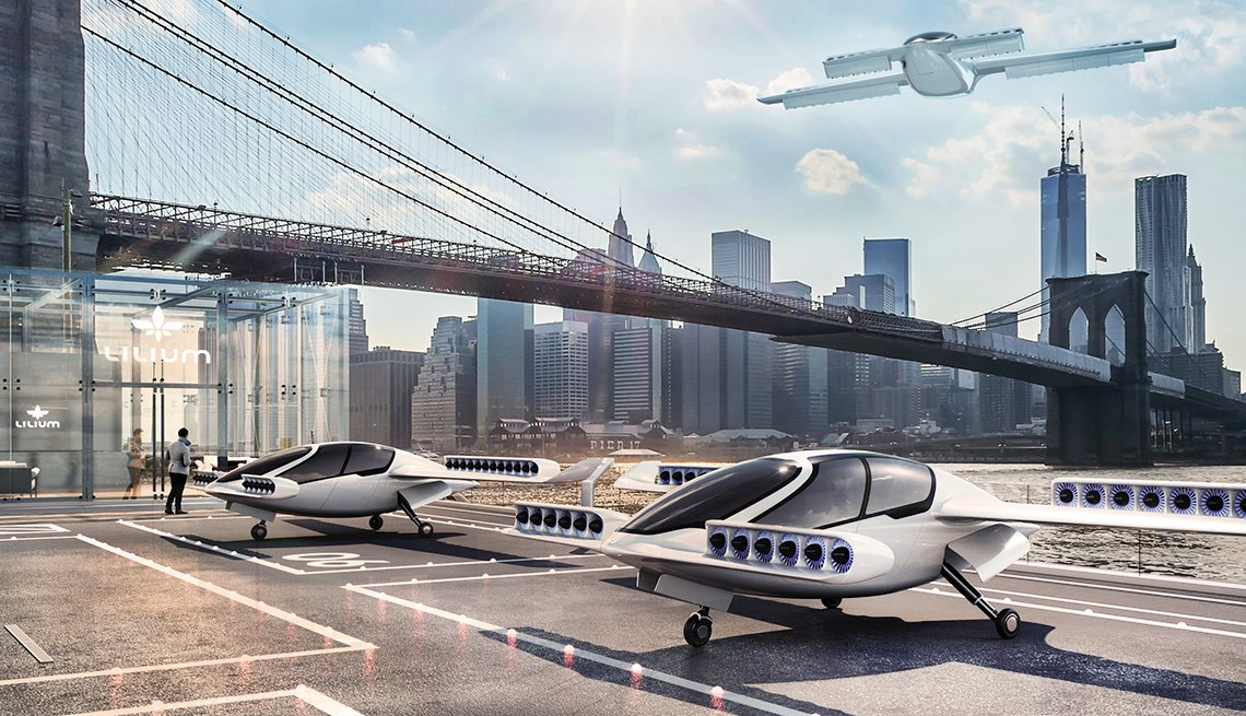 In Germany, the Lillium Jet packs military-developed vertical landing and take-off technology into a 2-seat electric jet for your daily commute