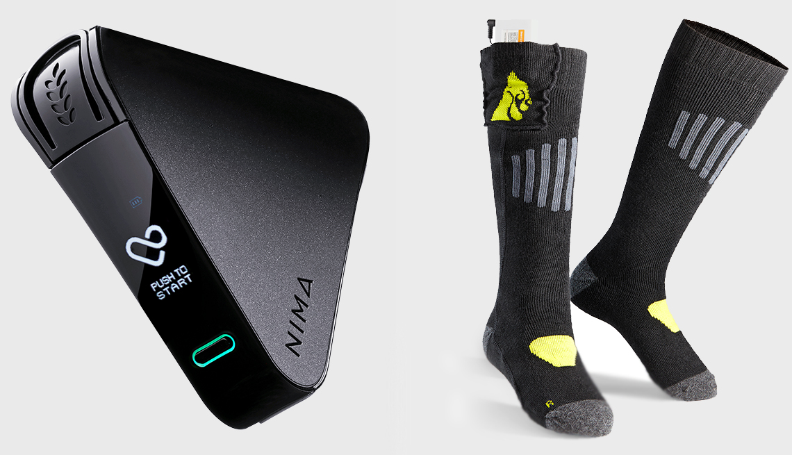 Technology to the rescue - Nima & socks