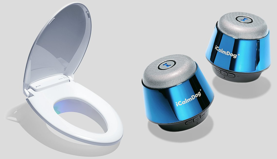 Technology to the rescue - Toilet seat and dog machine