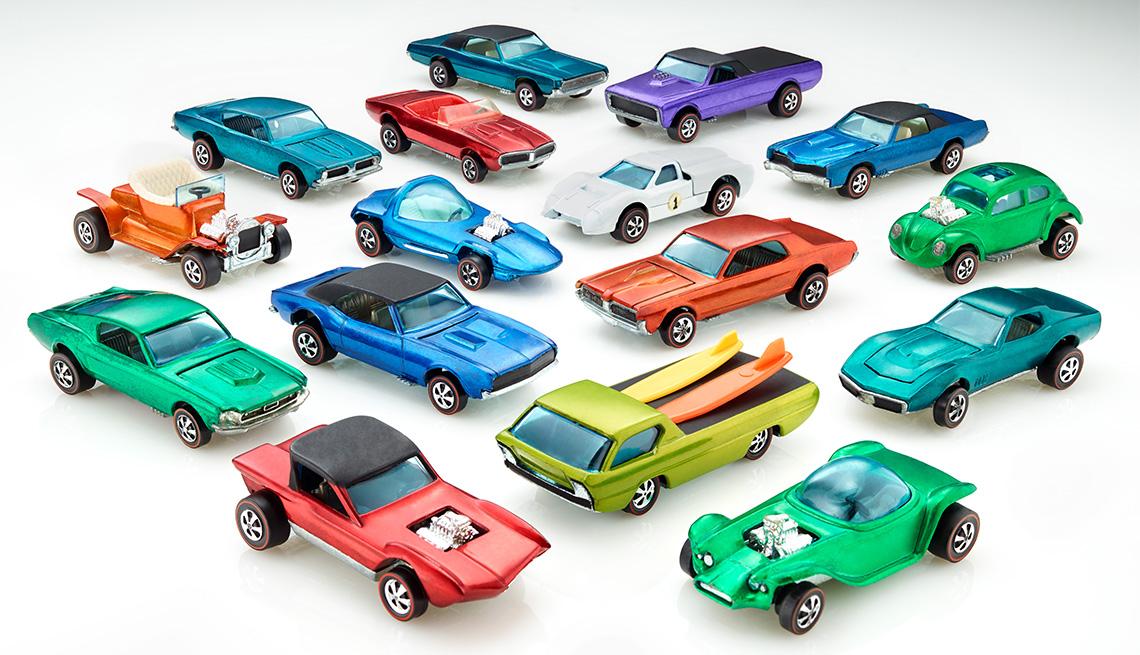 Sweet 16 Group of Original Hot Wheels Cars