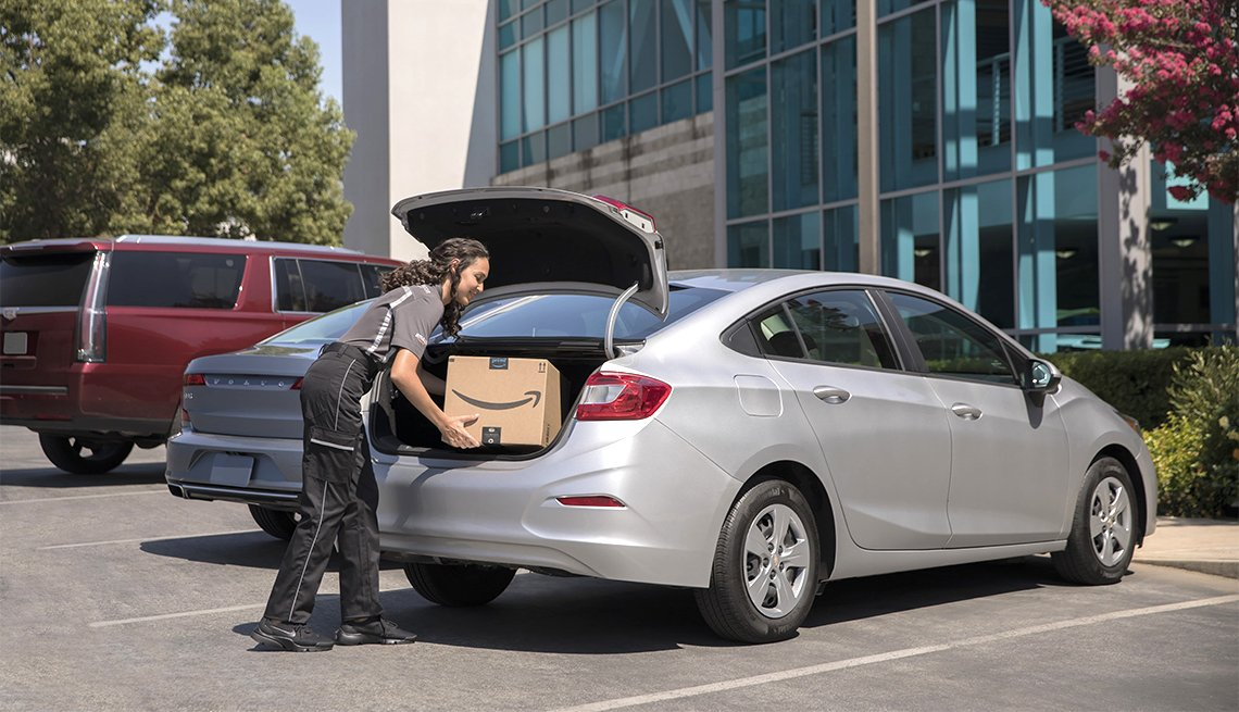 Amazon Delivery To Your Car