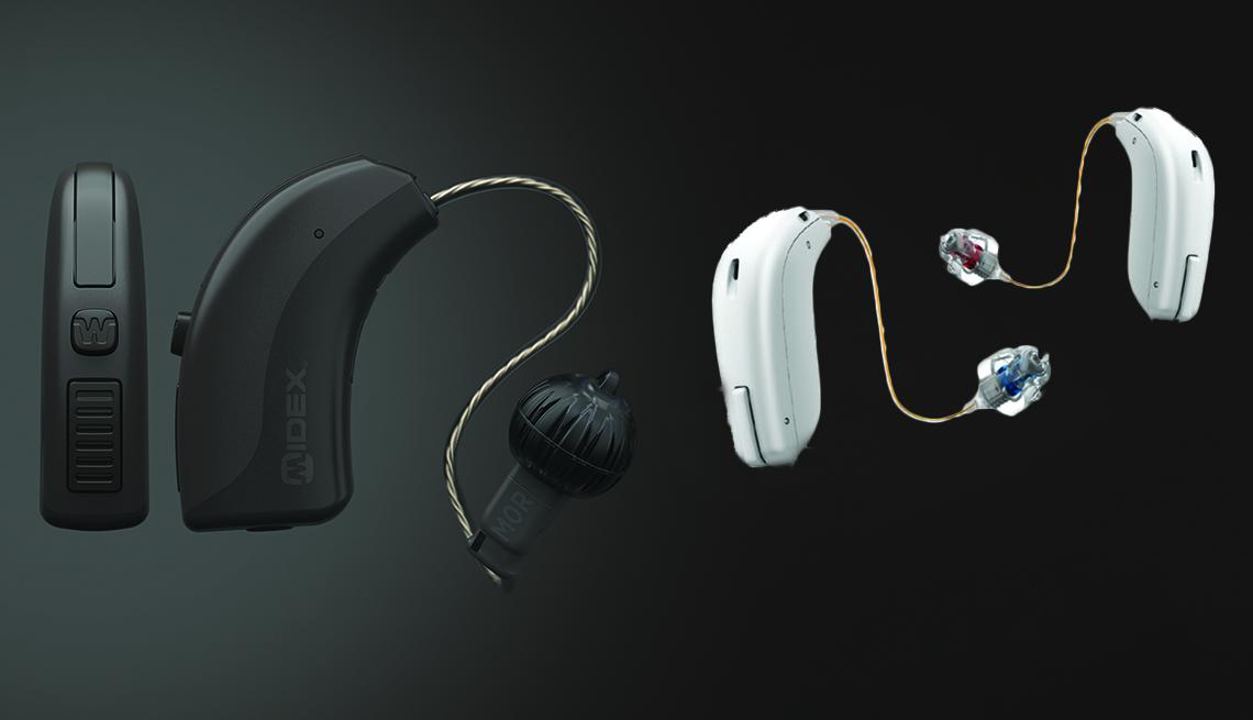 Dos audífonos