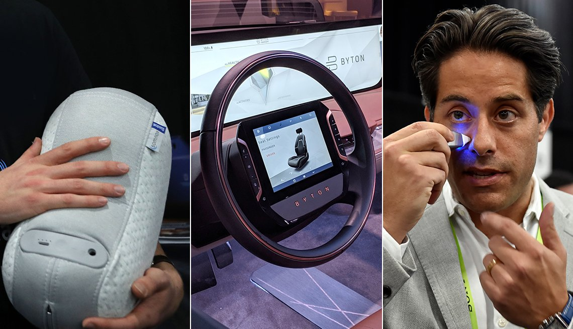 Various gadgets that will be on display at CES