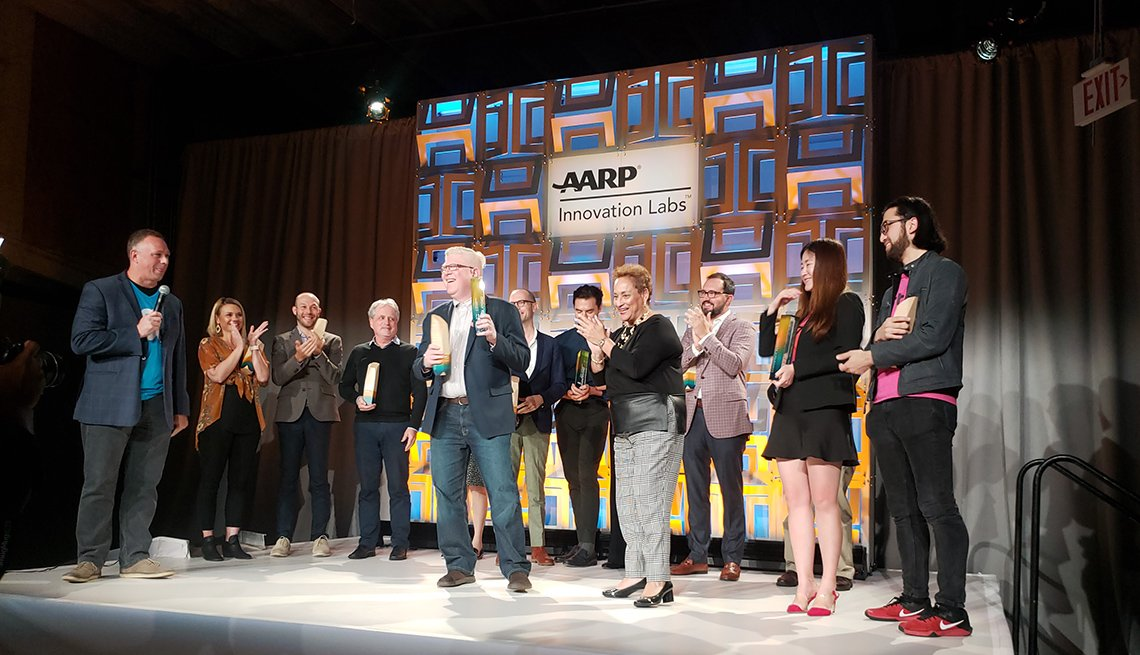 AARP Grand Pitch Award Ceremony