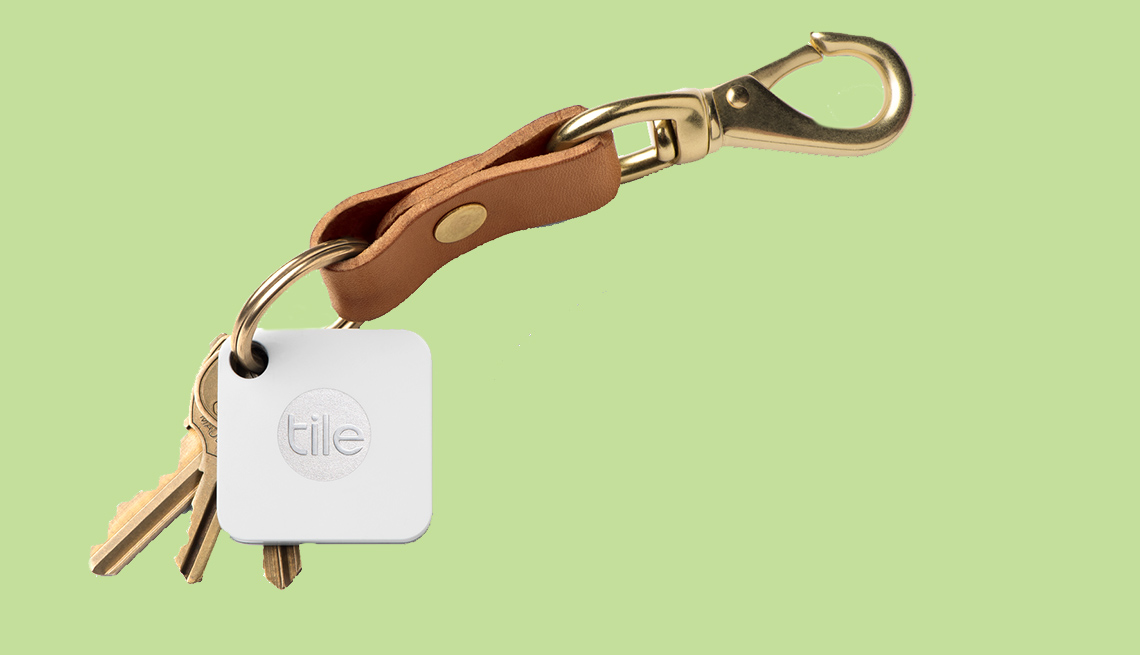 item 7 of Gallery image - Tile Key Ring