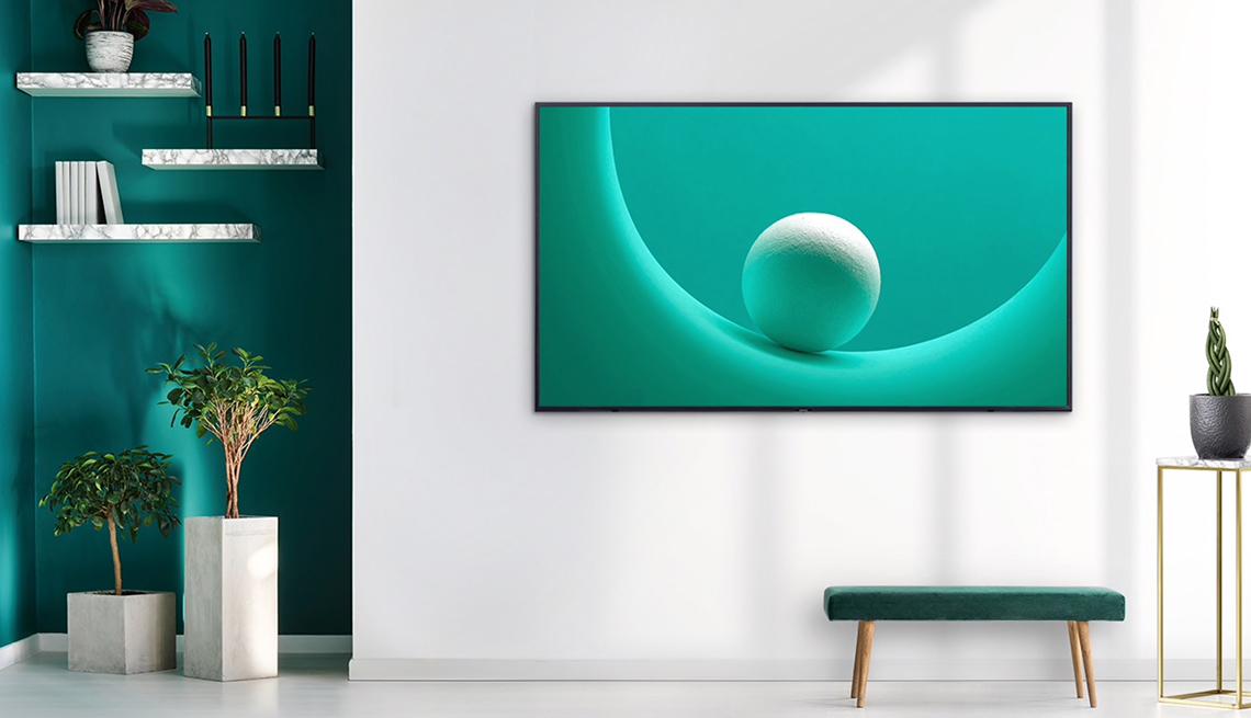Samsung Q60 Seriest Smart 4k QLED TV - lifestyle concept