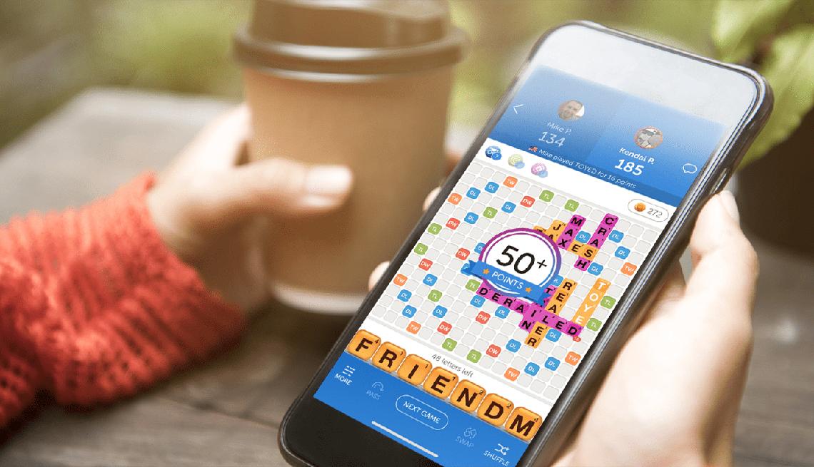 Imagen de la aplicación del juego -Words with friends-