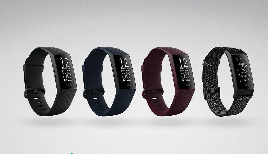 Línea completa de la pulsera Fitbit Charge 4