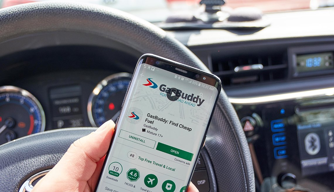 GasBuddy is company that operates apps and websites based on finding real
