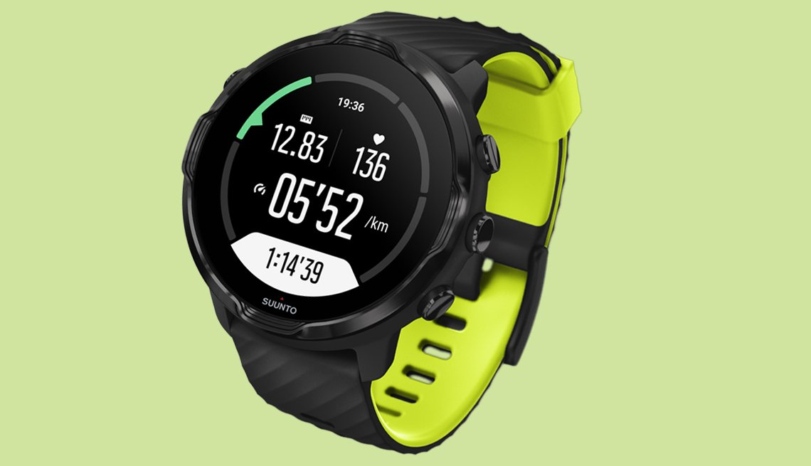 item 6 of Gallery image - Suunto 7 Smart Watch