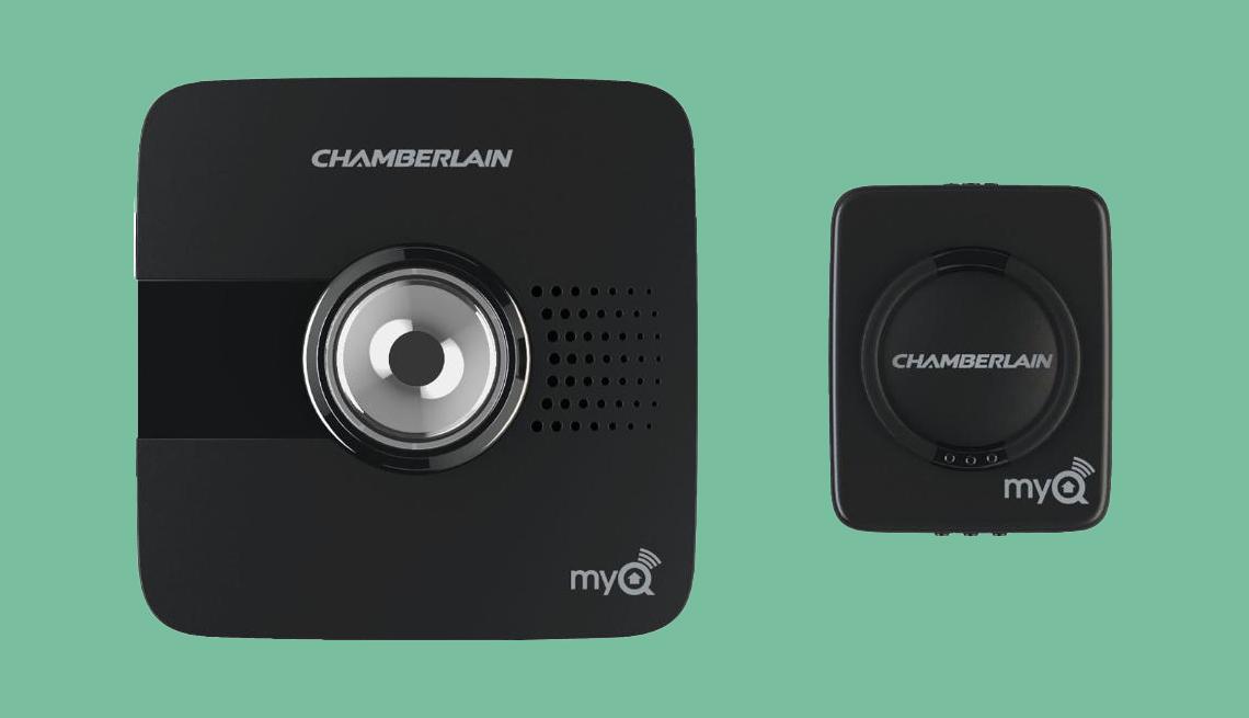 Chamberlain camera