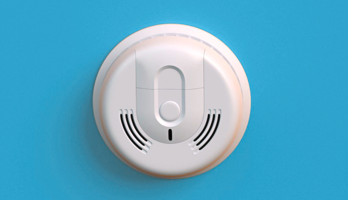 item 3 of Gallery image - smart alarm sensor that detects carbon monoxide as well as fire