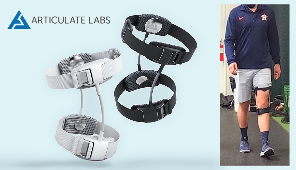 item 3 of Gallery image - product image of the articluate labs knee stim brace