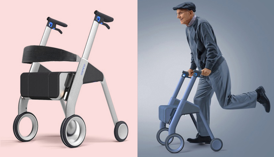 item 4 of Gallery image - product and demo images of the camino robotics walker