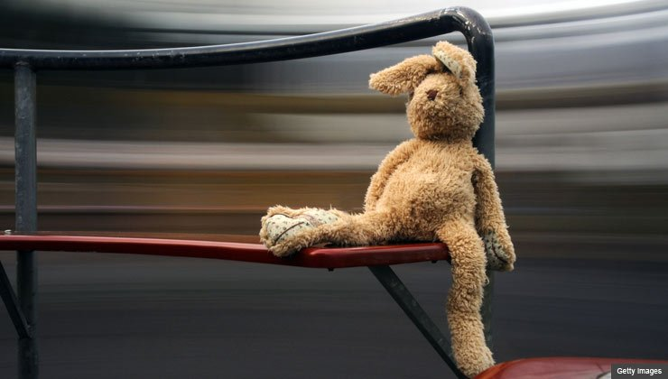 bunny on playground, keeping kids and grandkids safe from sexual predators