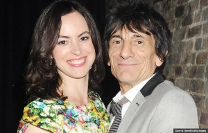 Sally Humphreys is 30 years younger than her husband Ronnie Wood