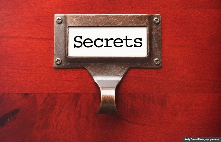 Red wooden box with secrets, Which Way to the G-Spot (Andy Dean Photography/Alamy)