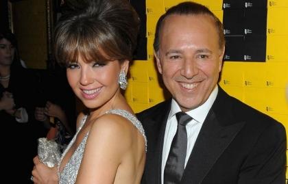 Thalia y Tommy Mottola - Importan las diferencias de edad después de los 50?