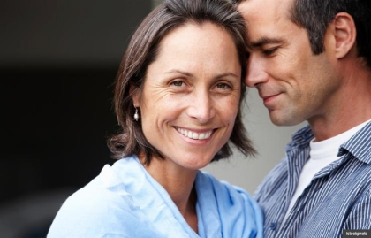 Portrait of couple embracing. Sex after 50 may be the best yet. (Istockphoto)