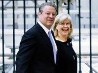 Tras 40 años de matrimonio, Al y Tipper Gore anunciaron su separación en 2010.