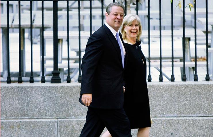 El ex vicepresidente Al Gore y Tipper Gore. ¿Por qué las parejas casadas por largo tiempo, se separan?