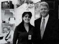 monica lewinsky bill clinton president affair white house vanity fair article intern