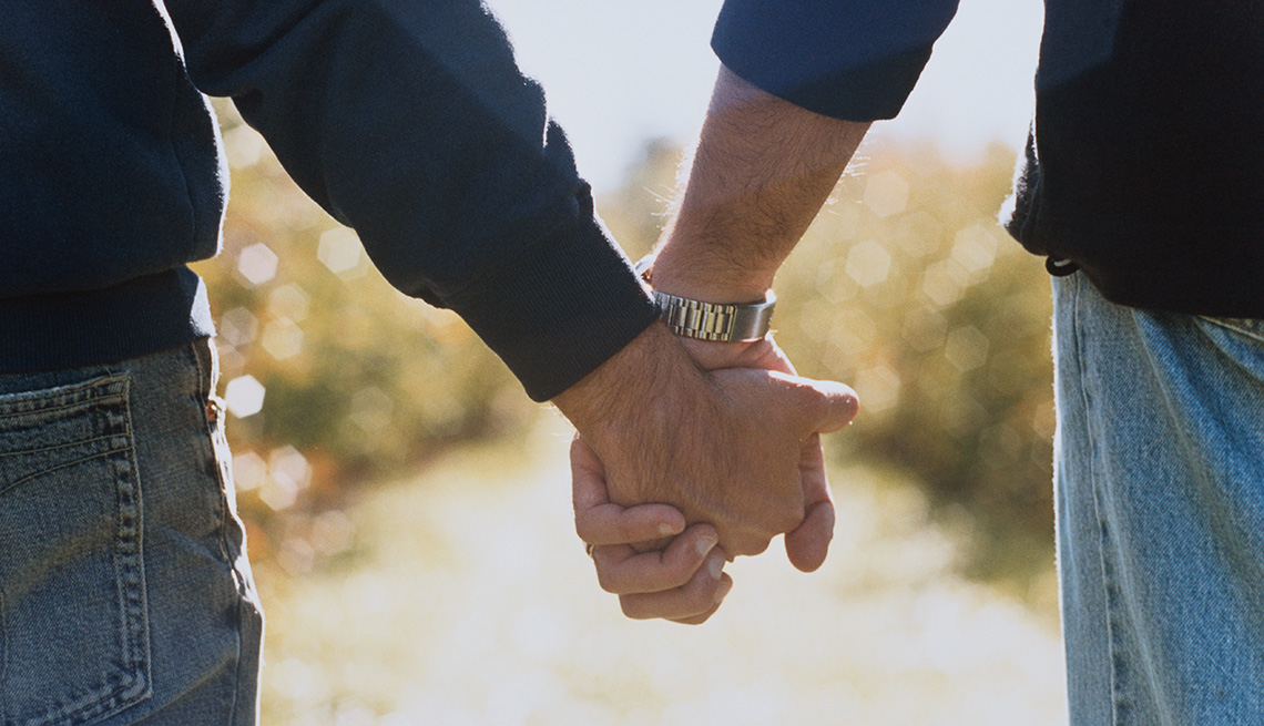 Two Men Holding Hands, Can Sexual Preference Change Over Time?