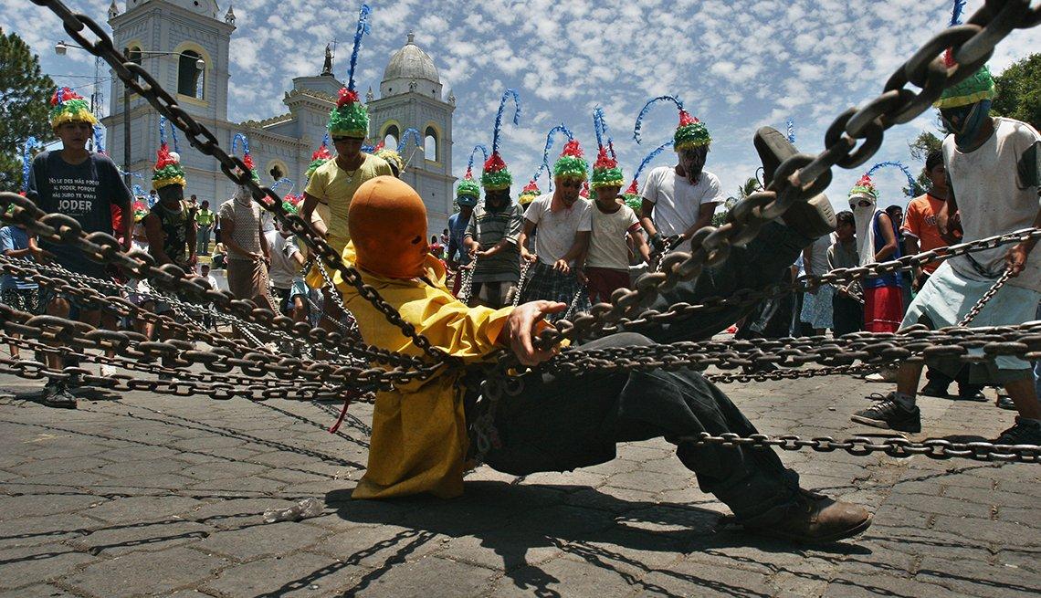 The Chained, Mastepe, Nicaragua, Semana Santa, una tradición de fe