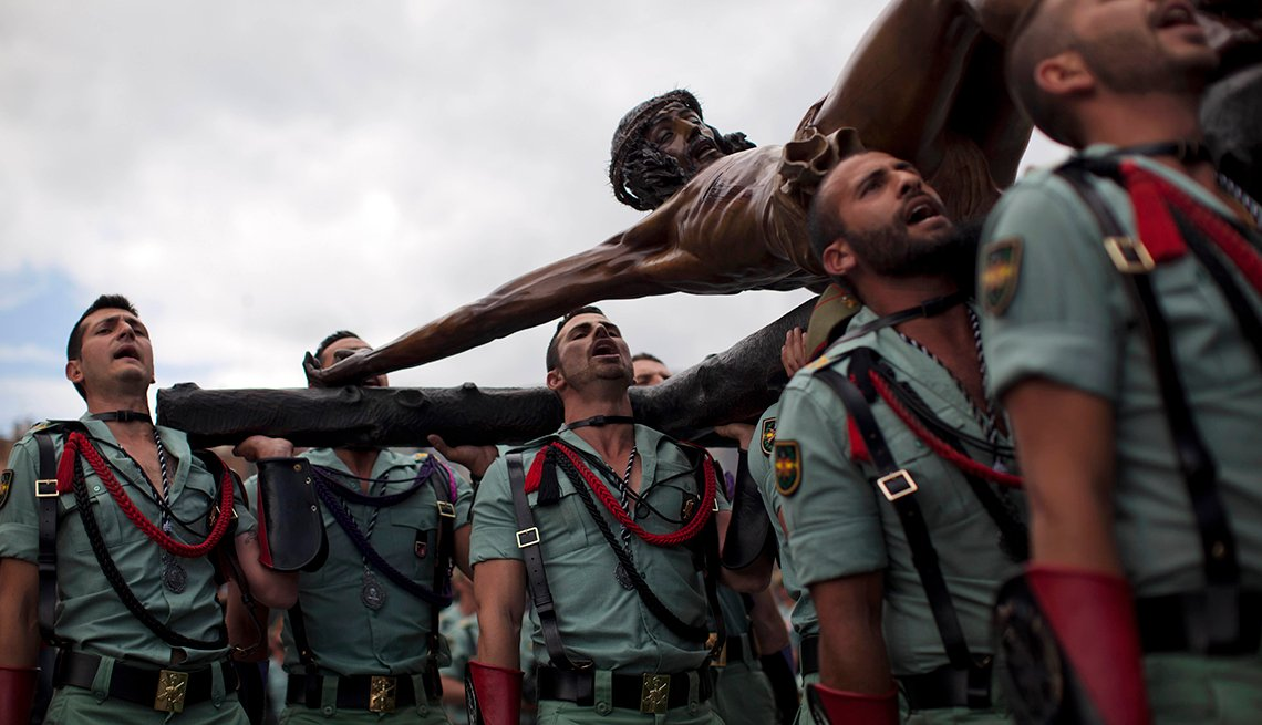 Spain Holy Week, Semana Santa, una tradición de fe