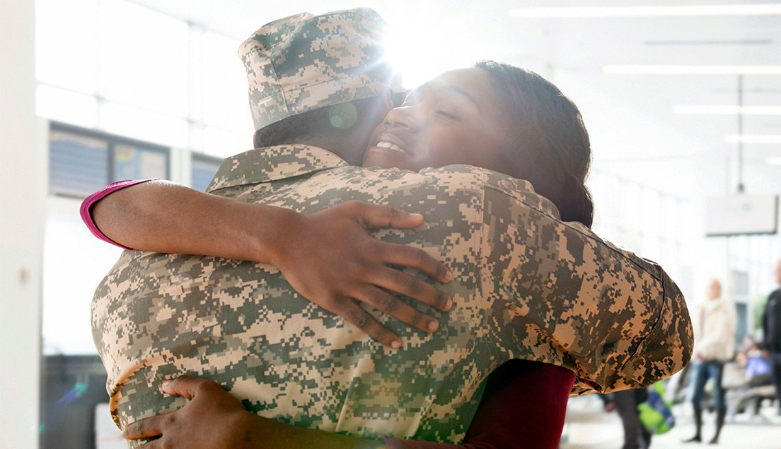 Veterans military and their families aarp veterans and families solutioingenieria Images