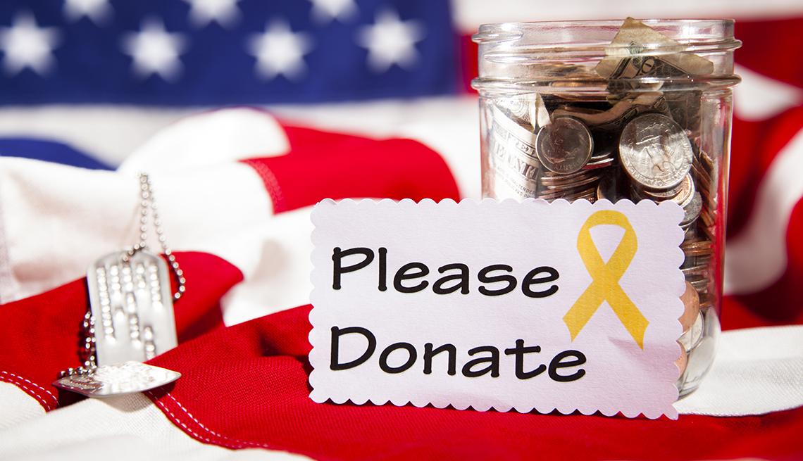 Charities Targeted for Pretending to Help Veterans