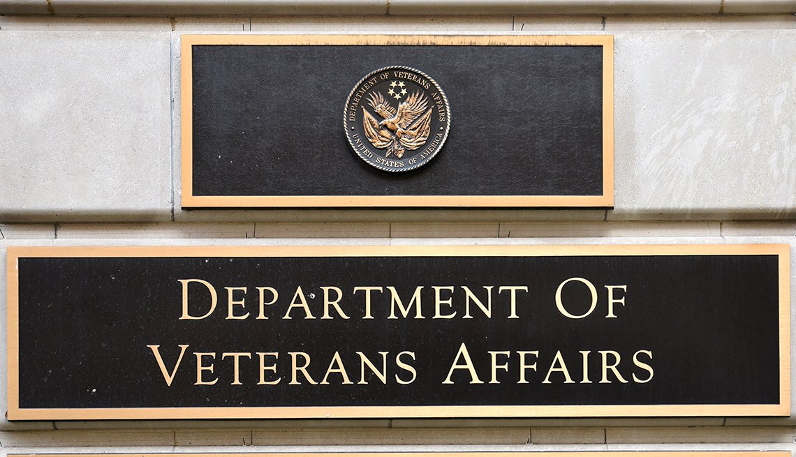 department of veterans affairs sign