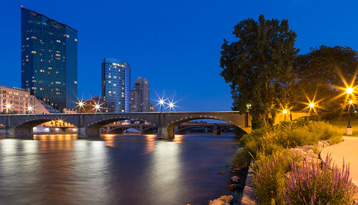 River Front, Grand Rapids, Michigan