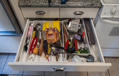 Drawer: After. Declutter Your Home