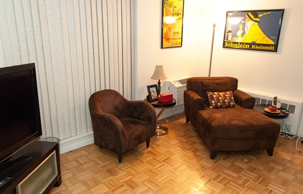 Family Room: After. Declutter Your Home.