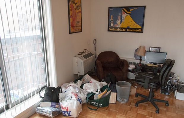 Family Room: Before. Declutter Your Home.