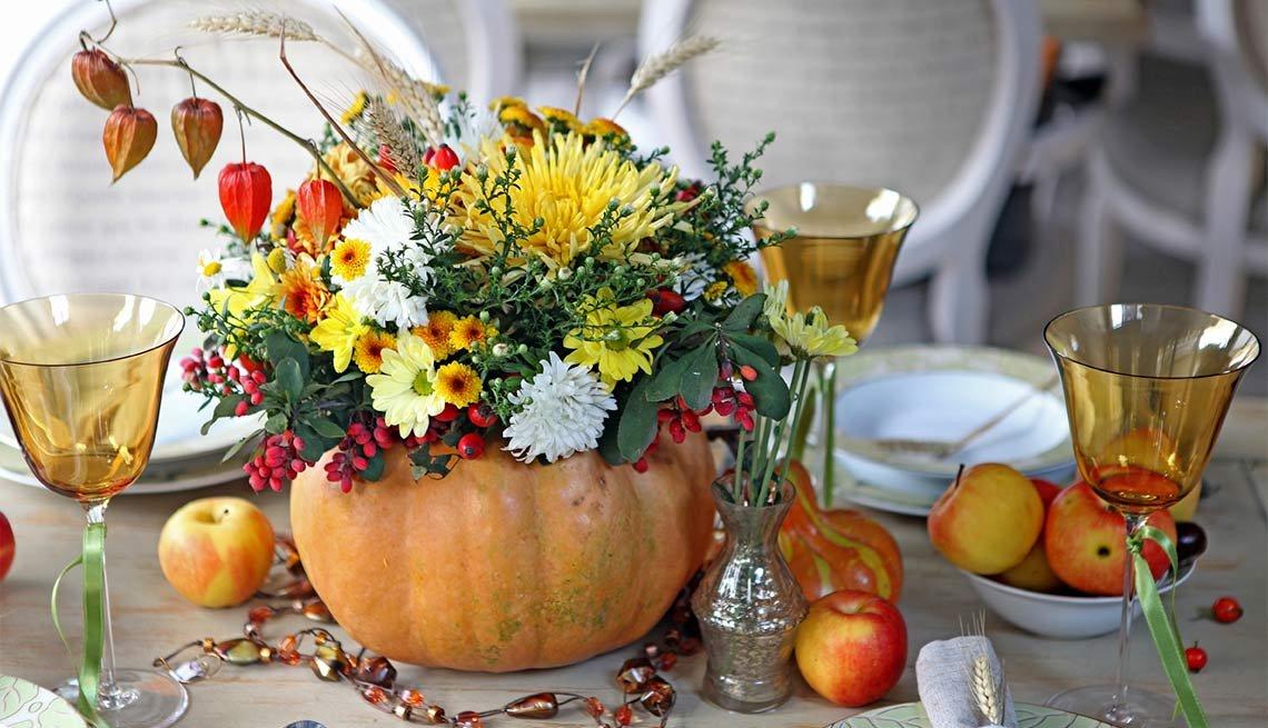 Centros De Mesa Para Celebrar El Día De Acción De Gracias
