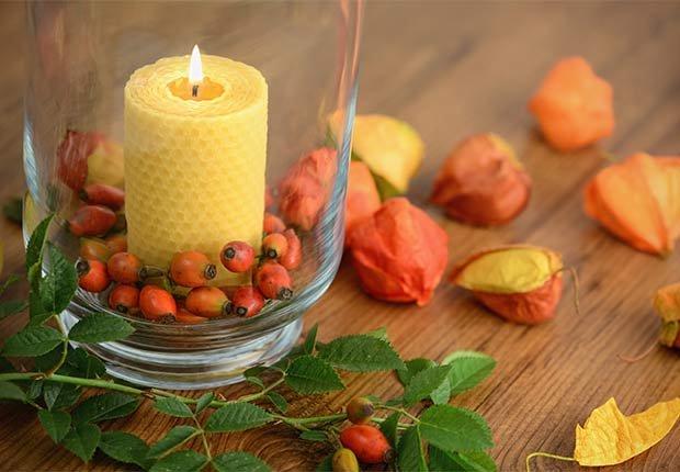 Centros de mesa para celebrar el d a de acci n de gracias for Decoracion de mesa para accion de gracias