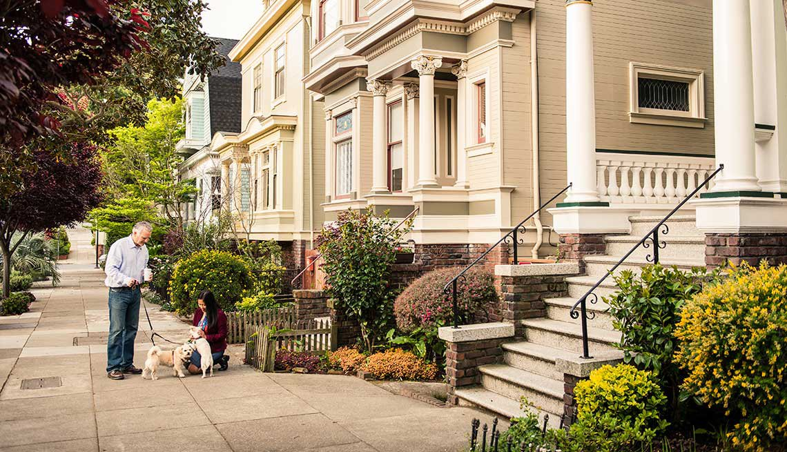Best places to live and retire in the u s for Best homes in san francisco