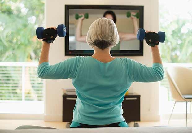 Maneras de adecuar tu casa para hacer ejercicios - Musica para hacer yoga en casa ...